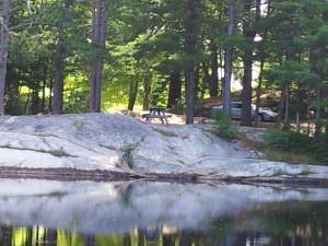 Runaround Pond recreation area 2012